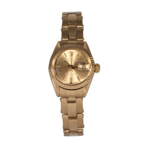Rolex 18ct Gold Oyster Perpetual Date Ref 6916 Watch- Order Online Today For Next Day Delivery