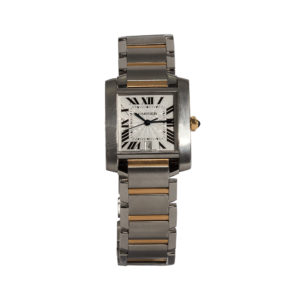 Cartier Tank Francaise Watch Ref:2301 - Order Online Today For Next Day Delivery