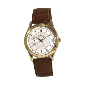 Shop Zenith Elite GMT 18ct Gold Limited Edition Watch - Order Online Today For Next Day Delivery