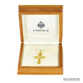 Shop 18ct Yellow Gold Faberge Enamel & Diamond Cross Pendant - Order Online Today