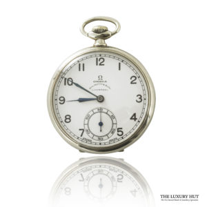 Vintage Steel Omega Pocket Watch - Order Online Today For Next Day Delivery