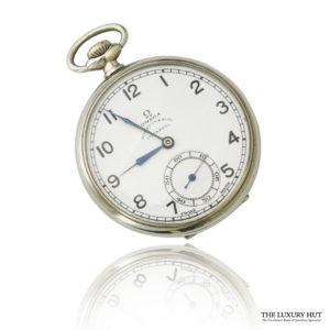 Vintage Steel Omega Pocket Watch - Order Online Today