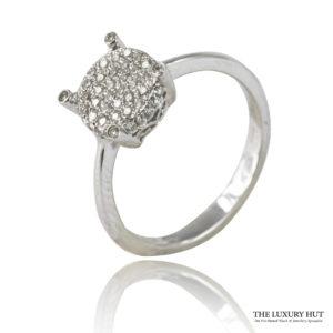 Shop Tresor Paris 18ct Gold 0.25ct Diamond Cluster Ring – Order Online Today