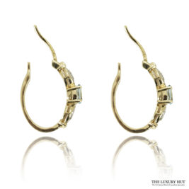 Shop Vintage 9ct Yellow Gold Topaz & Diamond Earrings – Order Online Today