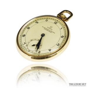 Vintage 9ct Gold Omega Pocket Watch - Order Online Today